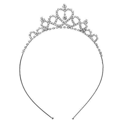 Headband: Center Heart Rhinestones Headband