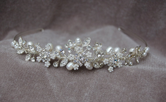Wedding Tiara Or Headband